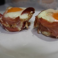 Prosciutto and Egg Cups