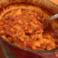 Chicken and Chorizo Stew